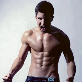 dacastinson and _naiza wallpaper with a six pack and a hunk entitled I'm in love *-*