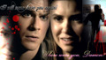 I will never leave you again - damon-and-elena wallpaper