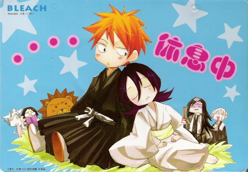 Bleach anime achtergrond containing anime titled ICHIGO & RUKIA