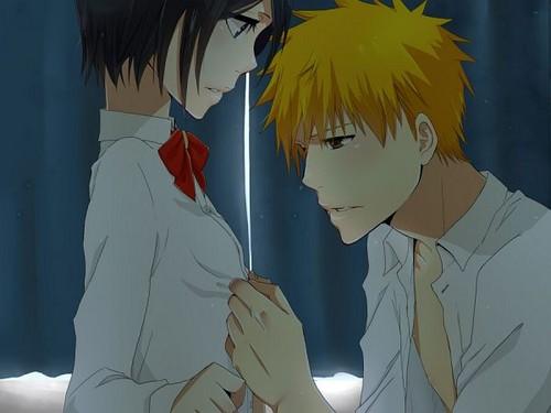 Ichigo loves Rukia