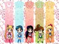 Inner Senshi Chibi - anime-girls fan art