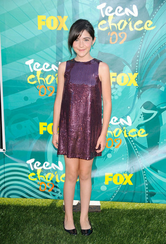Isabelle at the 2009 Teen Choice Awards