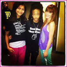 Jaden with Shake it Up stars