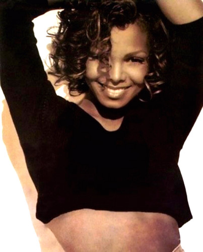 Janet Jackson wallpaper probably containing tights and a leotard called Janet