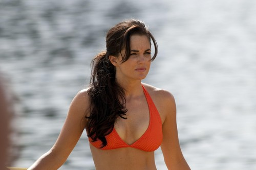 "Jillian Murray as ""Brandi Cox"""