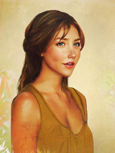 "Jirka Väätäinen's Interpretation of Jane Porter in ""Real Life"""