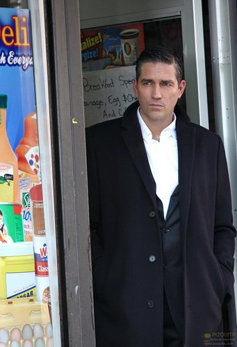 """John Reese wallpaper containing a business suit entitled John Reese 