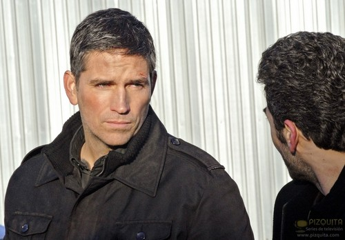 "John Reese wallpaper entitled John Reese || 1x15 ""Blue Code"""