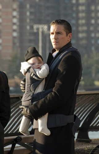 "John Reese wallpaper containing a business suit entitled John Reese || 1x17 ""Baby Blue"""
