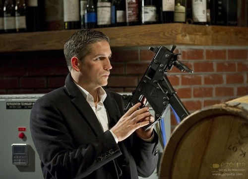 "John Reese wallpaper possibly containing a rifleman entitled John Reese || 1x20	""Flesh and Blood"""