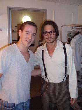 Johnny Depp&Edward Scissorhands
