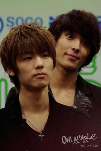 Minhyuk & Jong Hun