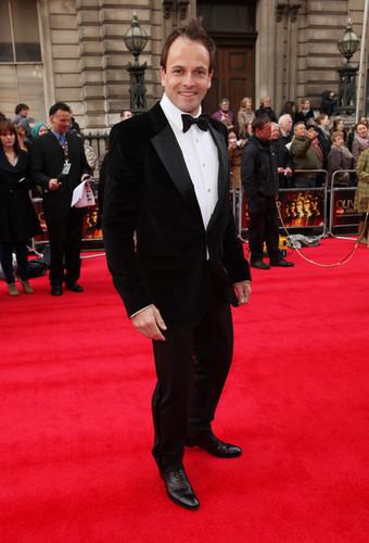 Jonny Lee Miller attends the 2012 Olivier Awards at The Royal Opera House on April 15, 2012 London
