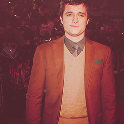 Josh Hutcherson at UK Hunger Games Premiere