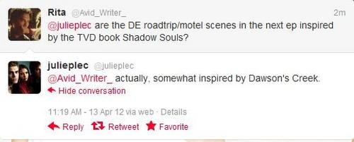 Julie's tweet!