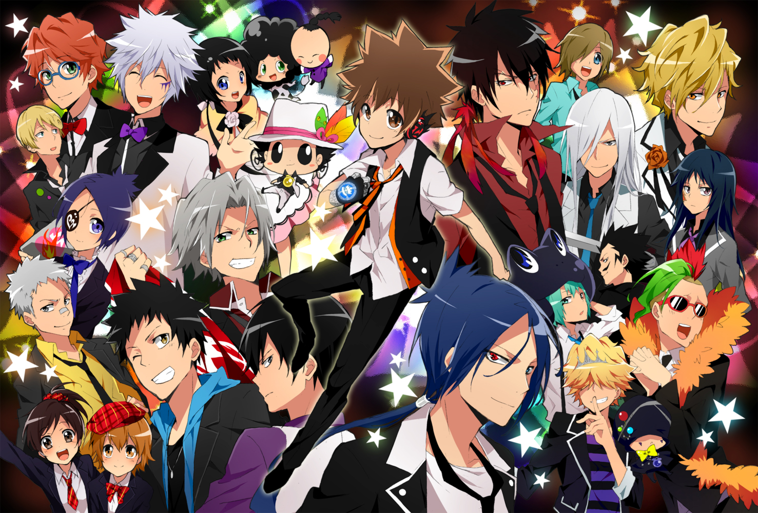 anime all together images khr hd wallpaper and background
