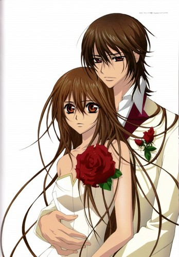 Kuran Kaname wallpaper possibly with a bouquet called Kaname Kuran