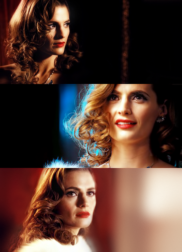 Kate Beckett - Blue vlinder
