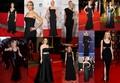 Kate Winslet in long black dress