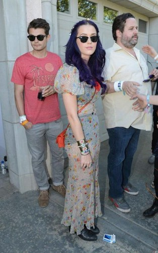 Katy a Desert Pool Party at Coachella