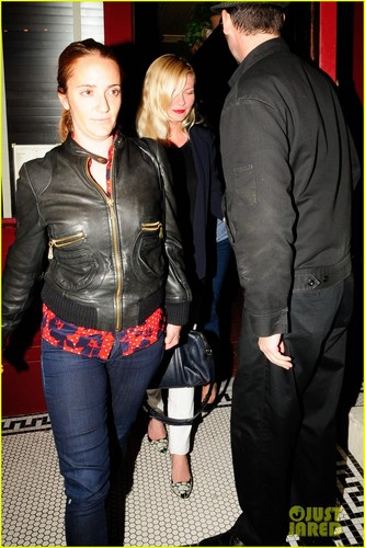 Kirsten Dunst: Bar Marmont Night Out! - kirsten-dunst Photo