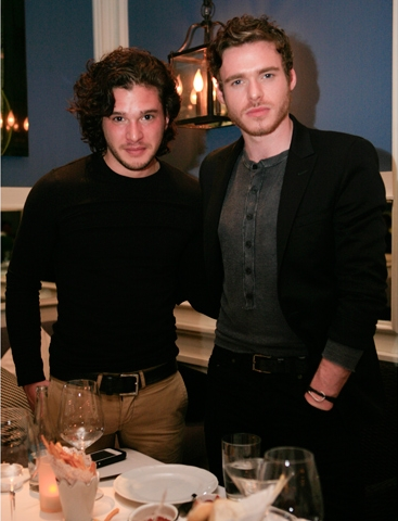 Kit Harington & Richard Madden- In Mexico promoting GoT