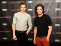 Kit Harington & Richard Madden- Promoting GoT in Rio de Janeiro - game-of-thrones photo