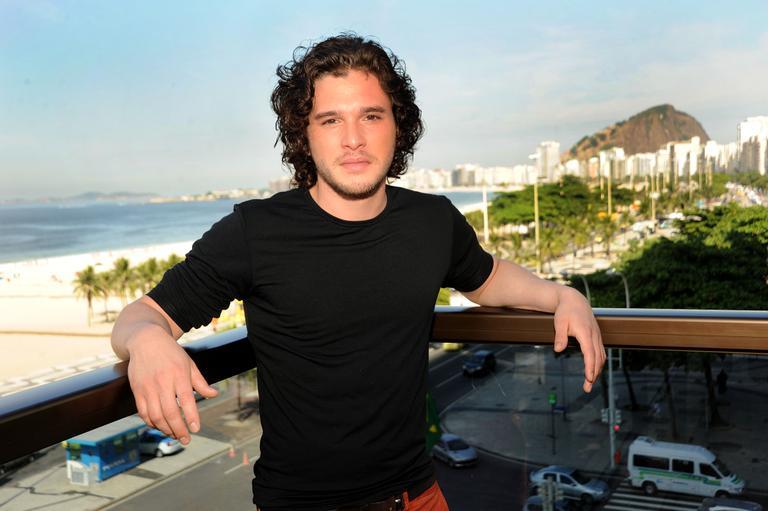 Kit Harington- Promoting GoT in Rio de Janeiro
