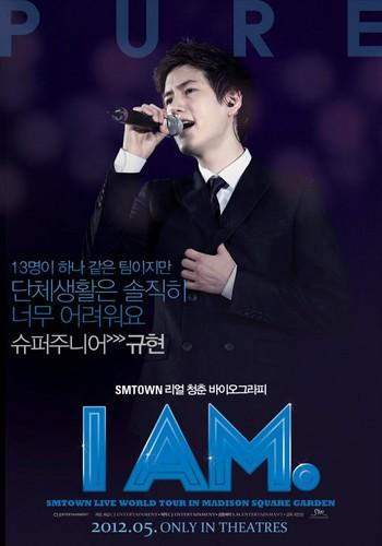 """Kyuhyun's """"I Am"""" Poster"""