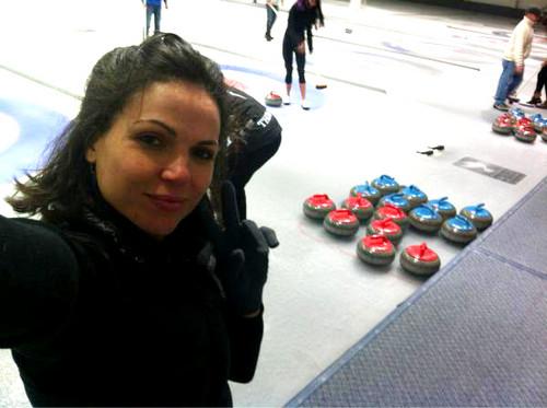 Lana....Curling