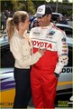 LeAnn Rimes & Eddie Cibrian: Kisses at the Race! - leann-rimes photo