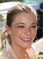 LeAnn Rimes & Eddie Cibrian: Kisses at the Race!