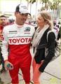 LeAnn Rimes & Eddie Cibrian: Toyota Grand Prix Pair