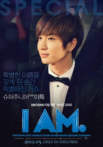 """Leeteuk's """"I Am"""" Poster"""