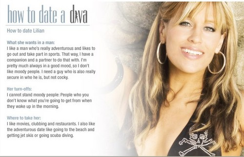 Lilian Garcia wallpaper with a portrait titled Lilian