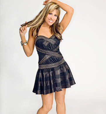 Lilian Garcia 壁紙 containing a カクテル dress entitled Lilian