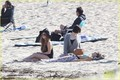 Lindsay Lohan: Beach Back Rub from Aliana - lindsay-lohan photo