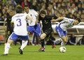 Lionel Messi: Real Zaragoza (1) v FC Barcelona (4) - lionel-andres-messi photo