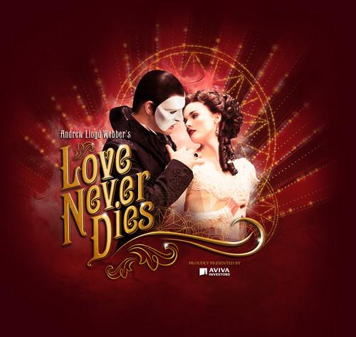 l'amour Never Dies fond d'écran