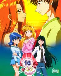 Pichi Pichi Pitch-mermaid melody karatasi la kupamba ukuta with anime called upendo