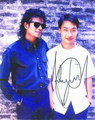 Lovly Michael *with* Lovly Fan - michael-jackson photo
