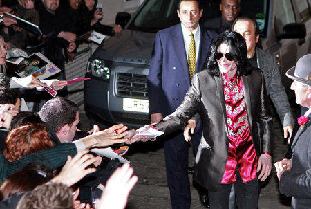 Lovly Michael *with* Lovly fan