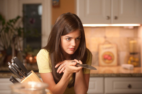Lucy Hale stars as Patty in Dimension Films' Scream 4
