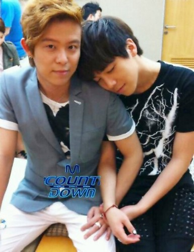 M! Countdown Tony An & Hong Ki