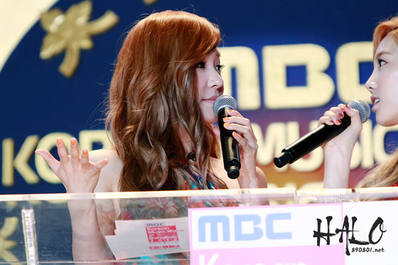 MC Tiffany @ Korean Music Wave In Bangkok - tiffany-girls-generation Photo