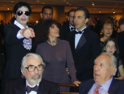 MJ with Veronica and Cristian Castro!!! ♥