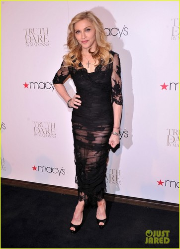 Madonna: 'Truth o Dare' Fragrance Launch!