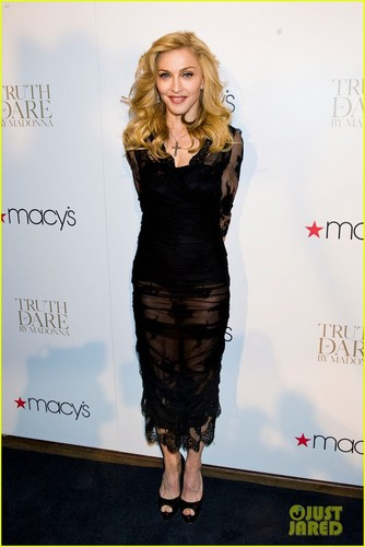 Madonna: 'Truth ou Dare' Fragrance Launch!
