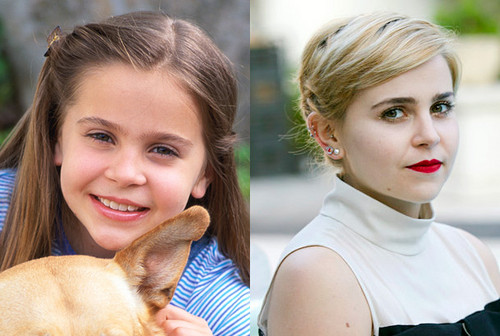 Mae Whitman (Amber) young