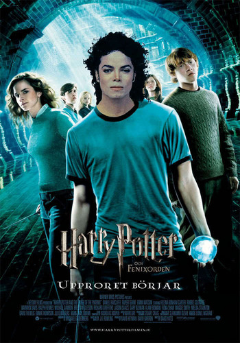 Magic!!! Michael as Harry Potter! =)